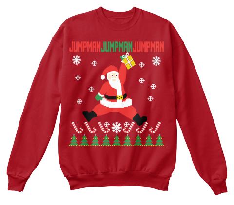 988114a6a63277 Jumpman Santa Ugly Christmas Sweaters! - jumpman jumpman jumpman ...