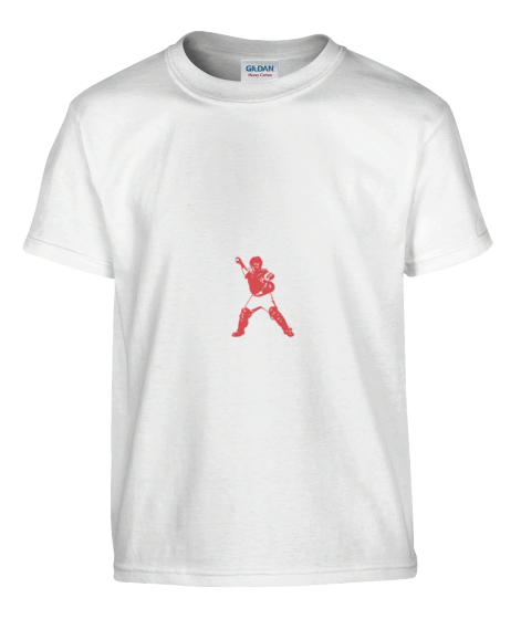 Love Miss Lyman Support Tee's White T-Shirt Front