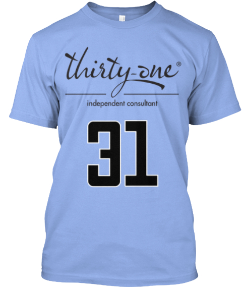 31 Light Blue T-Shirt Front