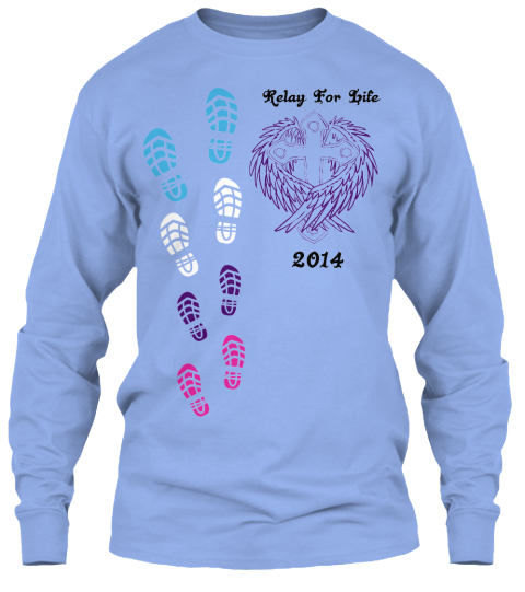 Team hope relay for life 2014 t shirts relay for life for Relay for life t shirt designs