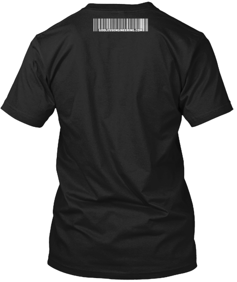 Support Traditional Marriage Black T-Shirt Back