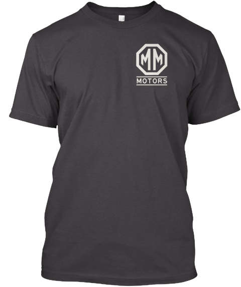 Passport To Racing Heathered Charcoal  T-Shirt Front