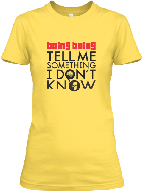 Tell Me Something I Don't Know Shirt Yellow T-Shirt Front