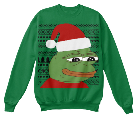 Pepe The Frog Christmas Sweater Products | Teespring