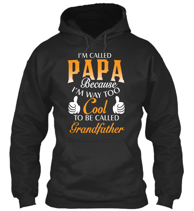 Im appelée suis papa Crewneck sweatshirs-Je suis appelée parce que trop Standard College Sweat à capuche e7fee9
