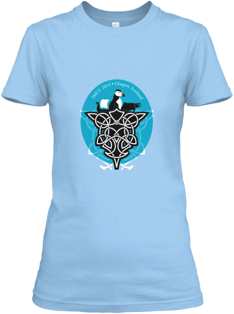 Marine Conservation Baby Blue Women's T-Shirt Front