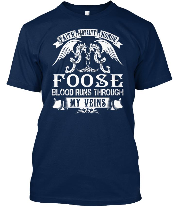 Foose-Blood-Runs-Through-My-Veins-Faith-Loyalty-Honor-Standard-Unisex-T-Shirt
