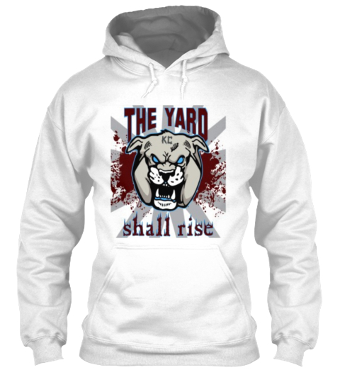 The Yard Kc Shall Rise White T-Shirt Front