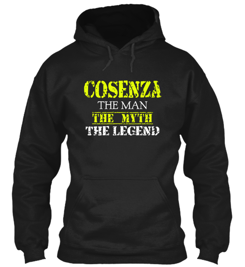 Cosenza-The-Man-Myth-Legend-Gildan-Hoodie-Sweatshirt