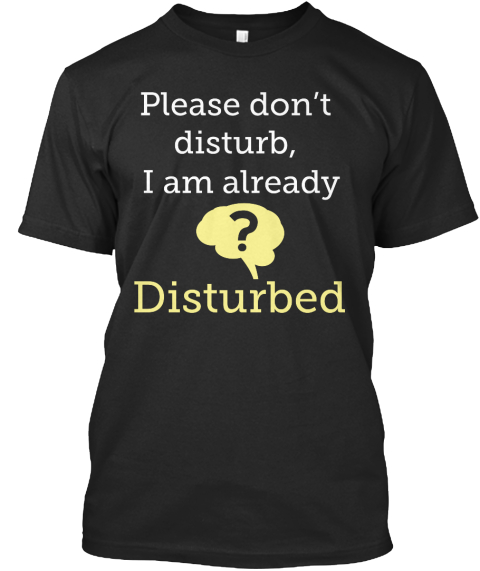 Dont Disturb Please Dont Disturb I Am Already Disturbed Products