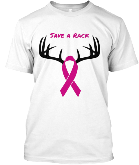 Save A Rack White T-Shirt Front