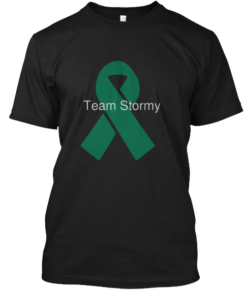 Team Stormy Black T-Shirt Front