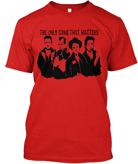 The Only Gang That Matters  Red T-Shirt Front