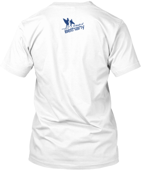 Limited Edition Hope For Boston Shirts White T-Shirt Back