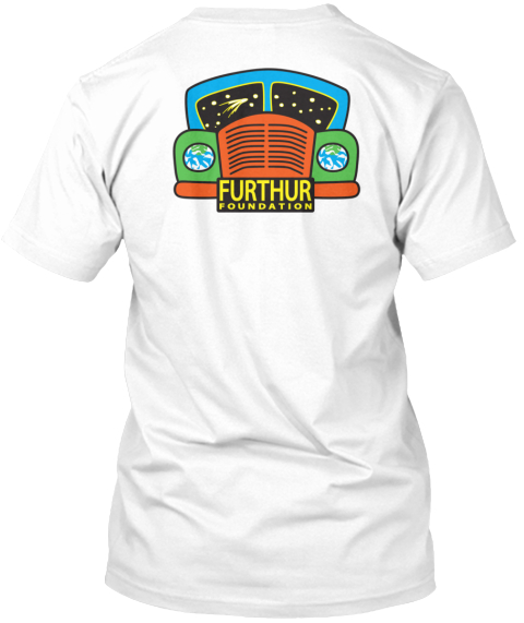 Furthur Foundation Furthur Foundation White T-Shirt Back