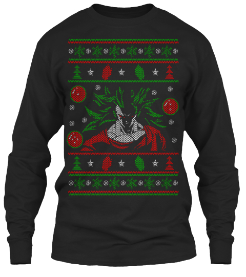 Dbz Ugly Christmas Sweater Style Products | Teespring