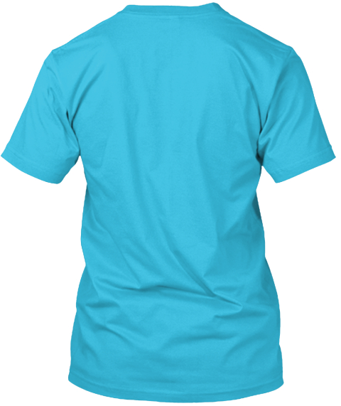 Bliss Ltd Fundraiser Turquoise T-Shirt Back