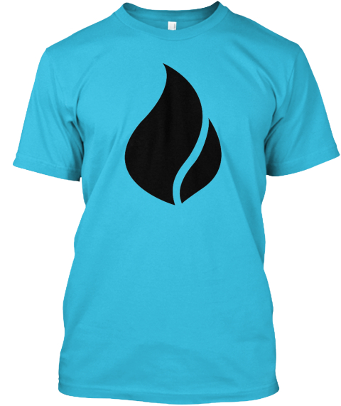 Bliss Ltd Fundraiser Turquoise T-Shirt Front