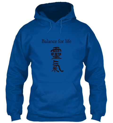 Balance For Life Royal Sweatshirt Front