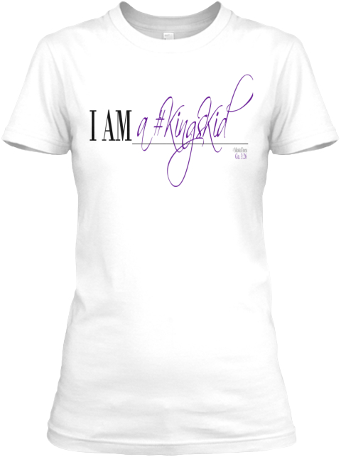 Moto Tees I Am White Women's T-Shirt Front