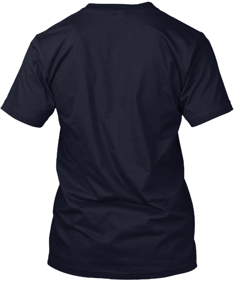 New York Texan Navy T-Shirt Back