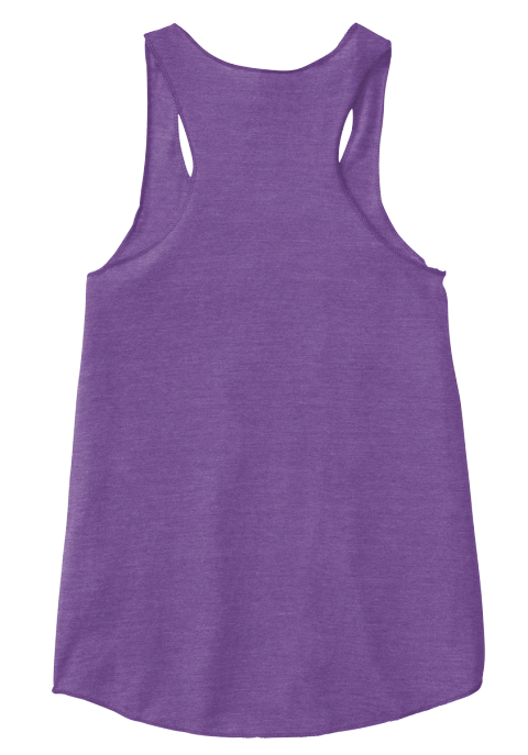 Diamonds Are Forever Tang  Eco True Purple  Women's Tank Top Back