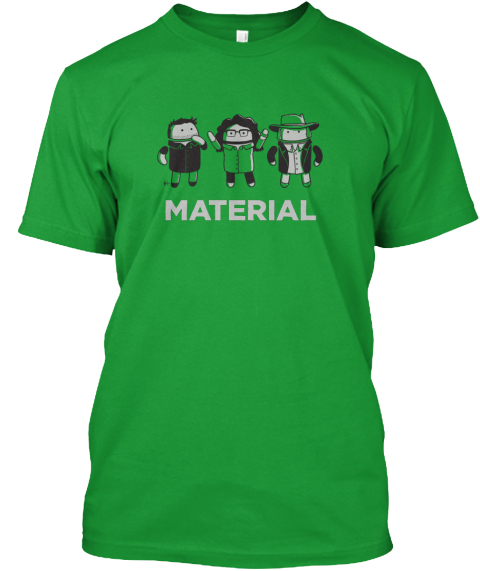 Material Relay Kelly Green T-Shirt Front