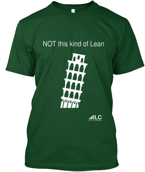 Not This Kind Of Lean Deep Forest T-Shirt Front