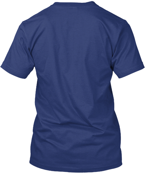 Super School Counselor Shirt Indigo T-Shirt Back