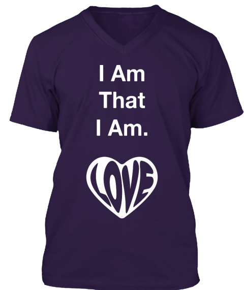 I Am That I Am. Team Purple T-Shirt Front