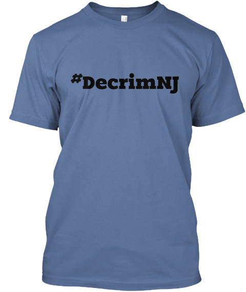 %23 Decrim Nj Denim Blue T-Shirt Front