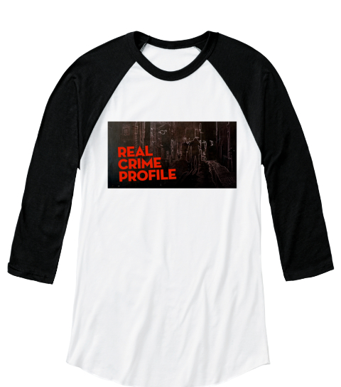 Real Crime Profile White/Black  Camiseta Front