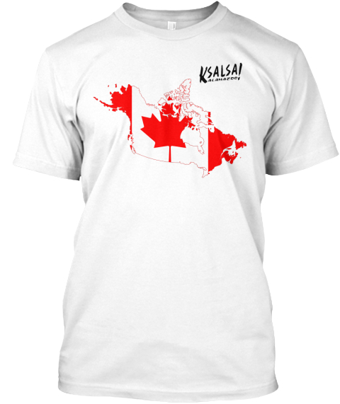 Canada Map Flag.Canada Map Flag And Kalamazoo Salsa Products From The K Salsa