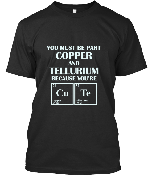 Periodic Table Elements Cute Products Teespring