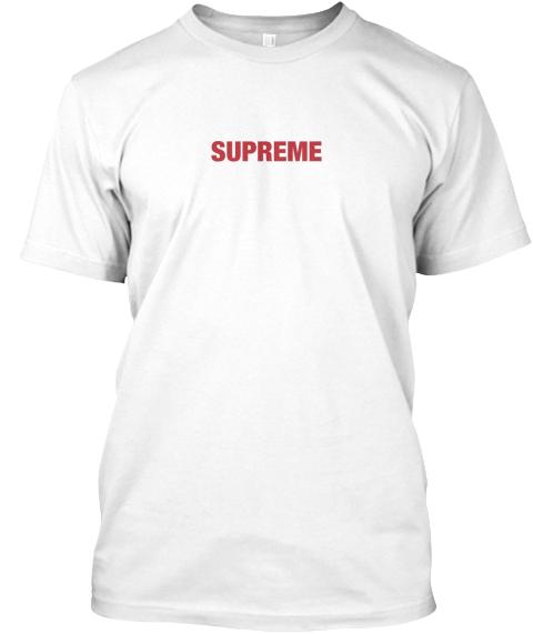 supreme t shirt fake