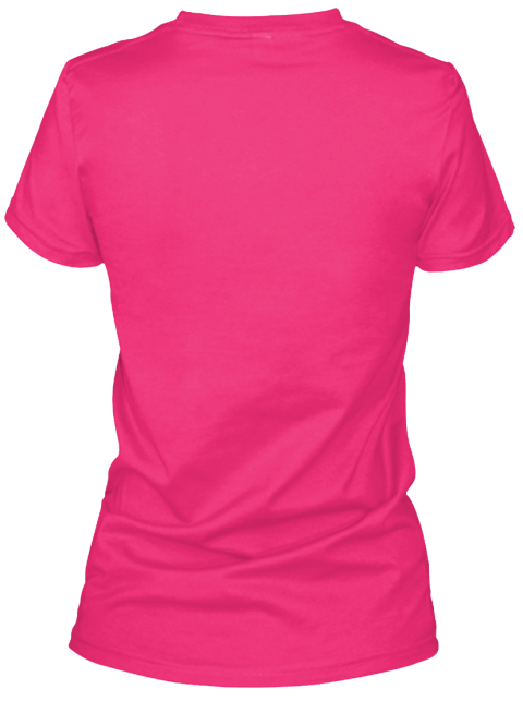 Anointed Co. For Breast Cancer Awareness Heliconia Women's T-Shirt Back