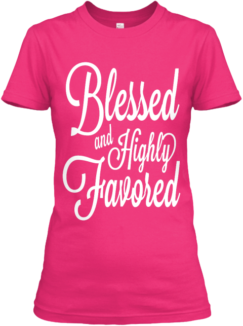 Anointed Co. For Breast Cancer Awareness Heliconia Women's T-Shirt Front