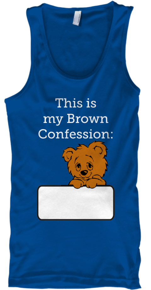 This Is %0 Amy Brown %0 A Confession%3 A Royal Tank Top Front