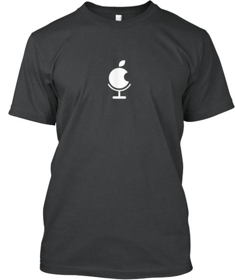 Easy Podcast Dark Grey Heather T-Shirt Front