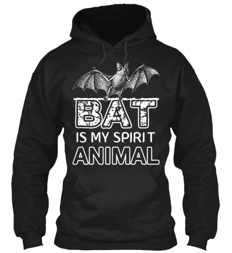 My Spirit Animal Black Sweatshirt Front