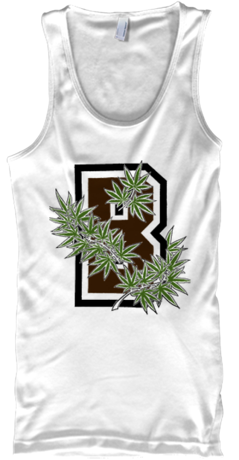 My Name Herb, Take Herb, Smoke Herb. White Tank Top Front