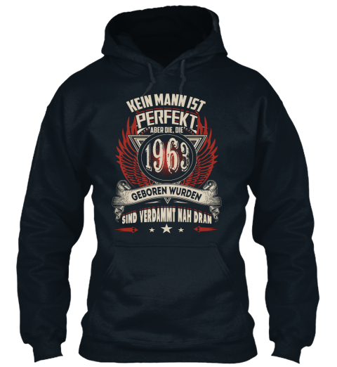 1963 French Navy Sweatshirt Front