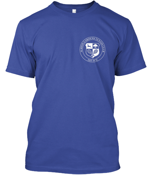 e7400092 Old School T Shirt Design Campaign Deep Royal T-Shirt Front