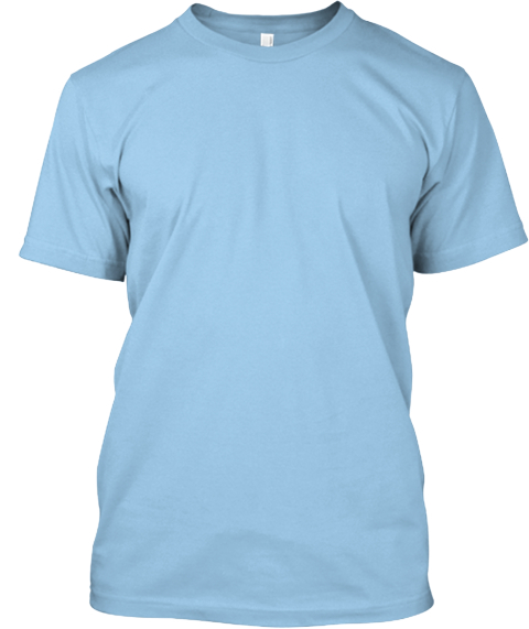 English Soap Box Tee Limited Edition! Light Blue T-Shirt Front