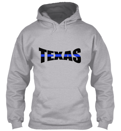Texas thin blue line t shirt from american t shirts 4u for Texas thin blue line shirt