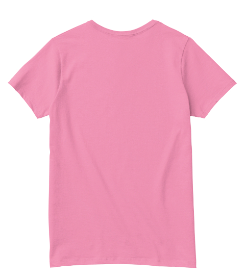 V Neck Queens New York City Pink  T-Shirt Back