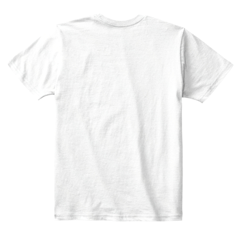 Dsl20 Th Kids White T-Shirt Back