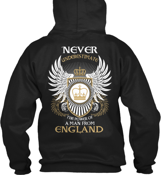 Limited Edition: Man From England Sweatshirt Back