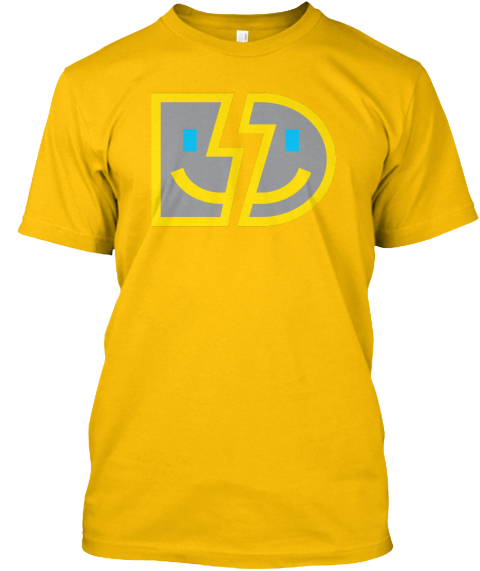 Bumblebee Gamer Gold T-Shirt Front