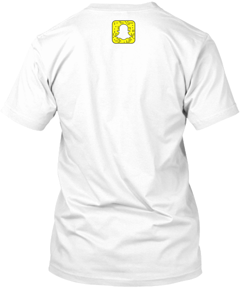 Banananoo! White T-Shirt Back